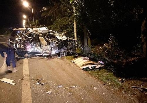 Vụ ô tô 7 chỗ đấu đầu xe tải ở Đồng Nai: 3 nạn nhân tử vong ngồi cùng một xe  - Ảnh 1