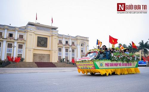 Hơn 400 xe rước hoa, tắm Phật mừng Đại lễ Phật đản Vesak 2019 - Ảnh 6