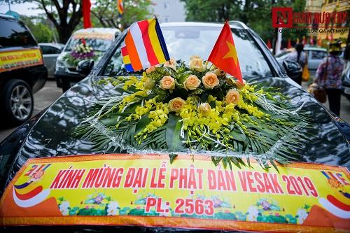 Hơn 400 xe rước hoa, tắm Phật mừng Đại lễ Phật đản Vesak 2019 - Ảnh 8