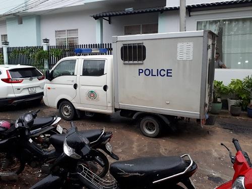 Hiện trường nghi án chủ nhà trọ 80 tuổi ở Bình Dương bị sát hại, cướp tài sản - Ảnh 2