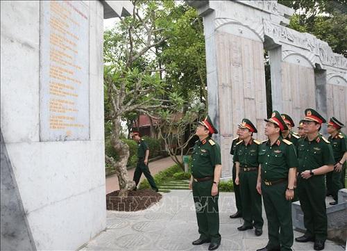Đường Hồ Chí Minh mãi là niềm tự hào của Quân đội và dân tộc Việt Nam - Ảnh 1