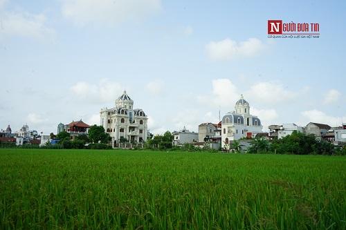 Choáng ngợp ngôi làng đi vài chục mét lại có một dinh thự ở Nam Định - Ảnh 1