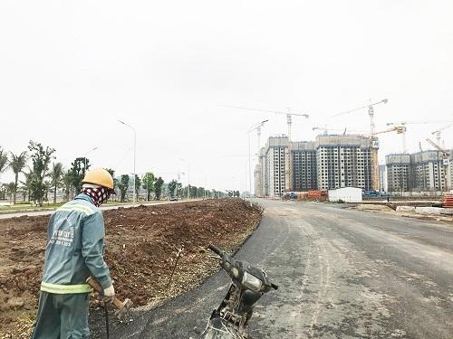 Bên trong dự án có biển nhân tạo lớn nhất VN ở ngoại thành Hà Nội - Ảnh 2