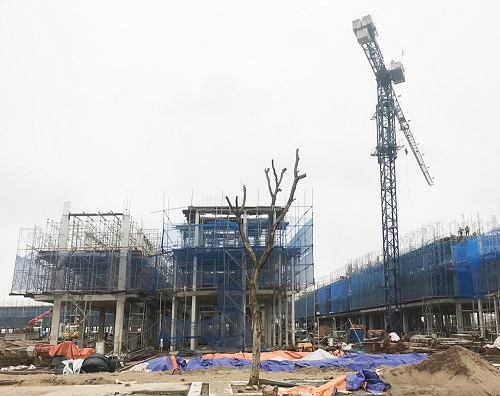 Bên trong dự án có biển nhân tạo lớn nhất VN ở ngoại thành Hà Nội - Ảnh 5