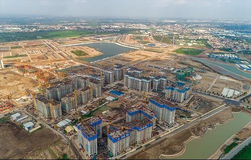 Bên trong dự án có biển nhân tạo lớn nhất VN ở ngoại thành Hà Nội - Ảnh 1