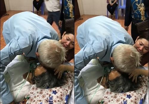 """Câu chuyện xúc động đằng sau clip cụ ông hôn lên má vợ và lời hẹn ước """"kiếp sau lại làm vợ chồng"""" - Ảnh 1"""