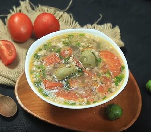 Cách nấu canh sấu thịt băm thơm ngon, giải nhiệt ngày nắng nóng - Ảnh 4