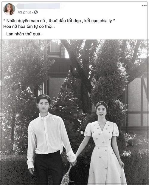 Muôn kiểu phản ứng của dân mạng trước tin cặp đôi Song - Song ly hôn - Ảnh 5