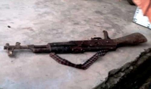 Nghi án chồng dùng súng bắn vợ bị thương nặng sau cuộc cãi vã - Ảnh 1