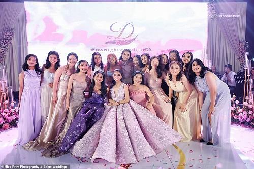Ái nữ nhà giàu chi 700 triệu tổ chức tiệc sinh nhật xa hoa, khách mời được tặng túi Louis Vuitton - Ảnh 4
