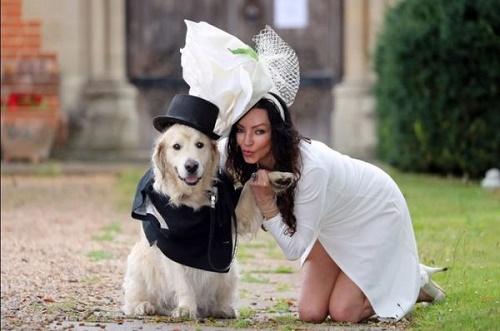 """220 lần hẹn hò thất bại, siêu mẫu xinh đẹp quyết cưới cún cưng làm """"chồng"""" - Ảnh 1"""