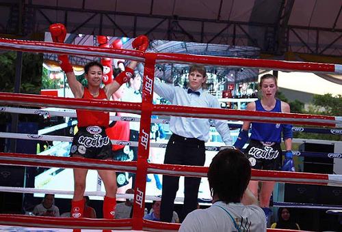 Nữ võ sĩ thứ 2 của Việt Nam xuất sắc giành huy chương vàng Muay Thái thế giới - Ảnh 1