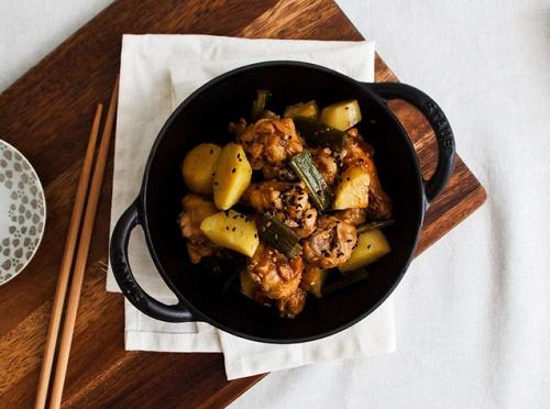 Học người Hàn làm món thịt gà siêu ngon, ăn một lần là thích ngay - Ảnh 5