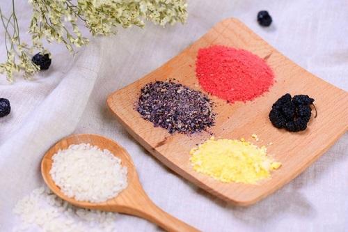 Cách làm xôi ngũ sắc với toàn bộ màu từ trái cây cho ngày Rằm tháng 7 - Ảnh 2