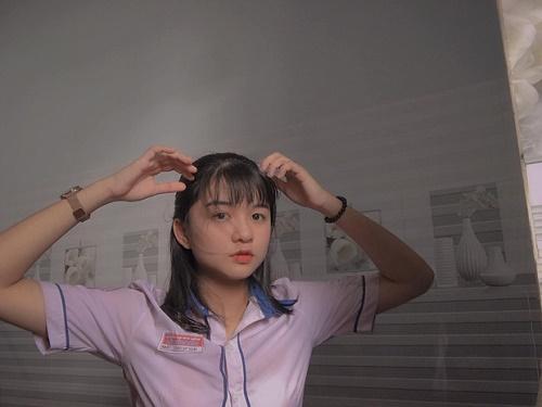 Chỉ một khoảnh khắc diện áo dài, nữ sinh Bình Thuận đã khiến dân mạng ngẩn ngơ thương nhớ - Ảnh 5