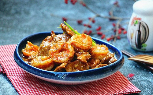 Chỉ 15 phút bạn có ngay món tôm rim mới lạ, cực hấp dẫn cho bữa tối - Ảnh 6