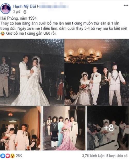 """Đám cưới """"đại gia"""" ở Hải Phòng năm 1994 khiến dân tình trầm trồ vì độ chịu chơi - Ảnh 1"""