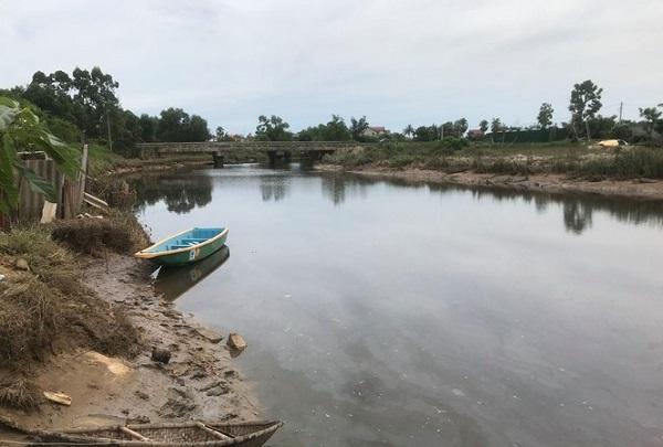 Hà Tĩnh: Bất ngờ xuất hiện cá sấu dưới sông, người dân không dám đánh bắt cá - Ảnh 1