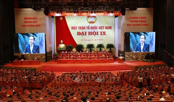Bế mạc Đại hội đại biểu toàn quốc Mặt trận Tổ quốc Việt Nam lần thứ IX - Ảnh 2