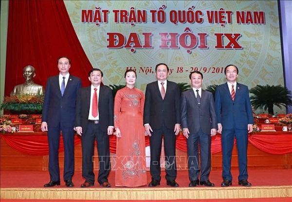 Bế mạc Đại hội đại biểu toàn quốc Mặt trận Tổ quốc Việt Nam lần thứ IX - Ảnh 5