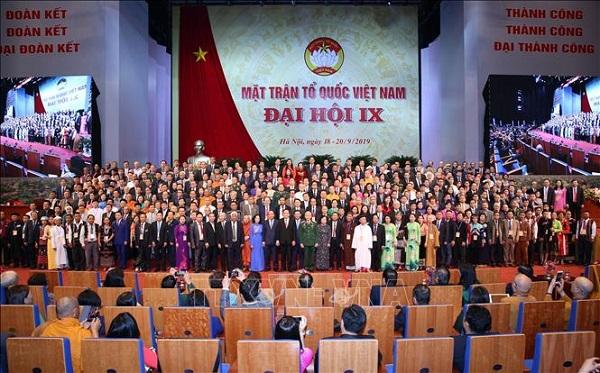 Bế mạc Đại hội đại biểu toàn quốc Mặt trận Tổ quốc Việt Nam lần thứ IX - Ảnh 6