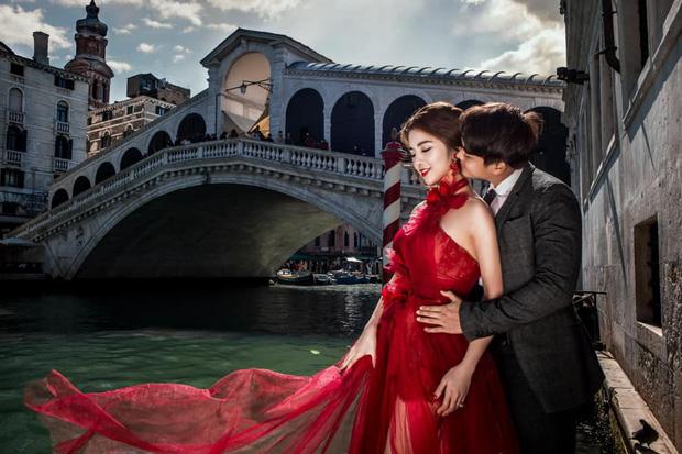 Rich kid Giang Lê tung bộ ảnh cưới đẹp tựa tranh vẽ nhưng danh tính chú rể mới thực sự bất ngờ - Ảnh 12