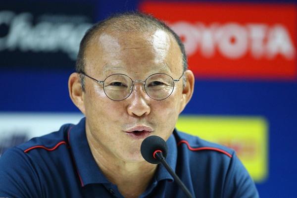 HLV Park Hang- seo: Thái Lan là đối thủ vừa tầm với Việt Nam, không có gì phải ngại - Ảnh 1