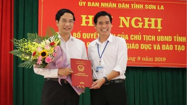 Sở Giáo dục Sơn La có giám đốc mới - Ảnh 1
