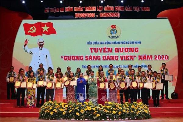 TP. Hồ Chí Minh tuyên dương 90 gương đảng viên công nhân tiêu biểu - Ảnh 2