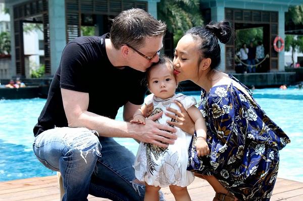Ca sĩ Đoan Trang: Hạnh phúc viên mãn bên người chồng nước ngoài - Ảnh 1