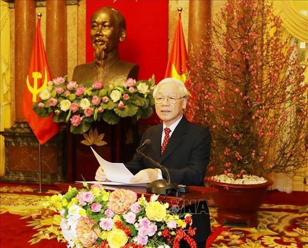 Thông điệp của Tổng Bí thư, Chủ tịch nước Nguyễn Phú Trọng: Việt Nam sẽ đảm nhận thành công các trọng trách quốc tế - Ảnh 1