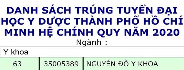 Đặt tên con Nguyễn Đỗ Y Khoa, 18 năm sau bố mẹ nhân kết quả bất ngờ - Ảnh 1