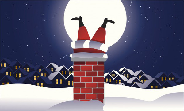 Vì sao ông già Noel chui qua đường ống khói để tặng quà mà không đi cửa chính - Ảnh 1