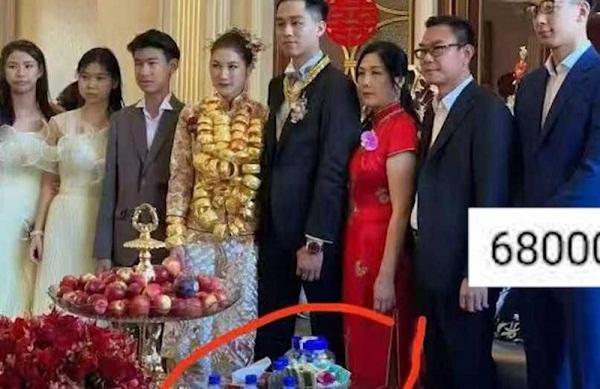 """Thấy cô dâu """"gồng mình"""" đeo vàng nặng trĩu trong ngày cưới, dân mạng nguyện san sẻ bớt """"gánh nặng"""" - Ảnh 3"""