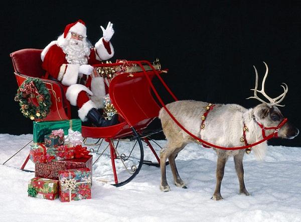 Vì sao bộ đồ của ông già Noel lại có màu đỏ? - Ảnh 1