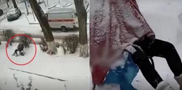"""Người phụ nữ ngồi bất động trên ghế dưới trời mưa tuyết, biết được sự thật ai cũng """"sôi máu"""" - Ảnh 2"""