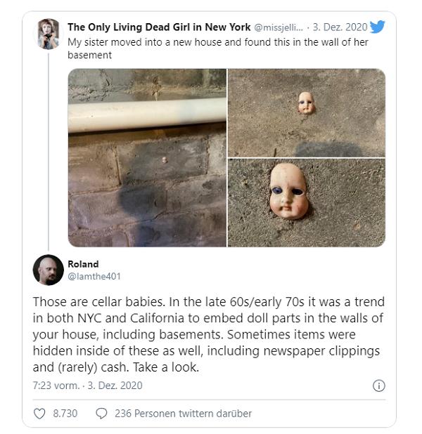 Vừa chuyển đến nhà mới thì phát hiện vật thể lạ trên tường, người phụ nữ được khuyên rời đi lập tức - Ảnh 2