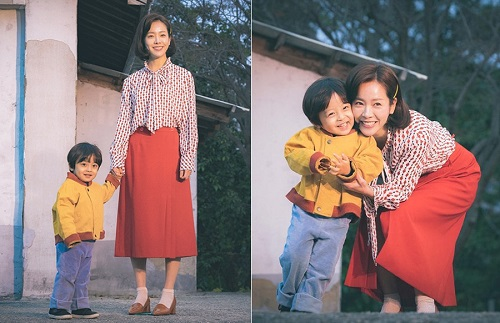 Dậy sóng trước vẻ đáng yêu của cậu bé đóng con gái Kim Tae Hee - Ảnh 5