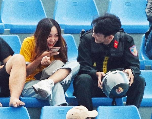 Hội chị em ráo riết truy tìm danh tính chàng công an đẹp như hot boy Hàn Quốc - Ảnh 4