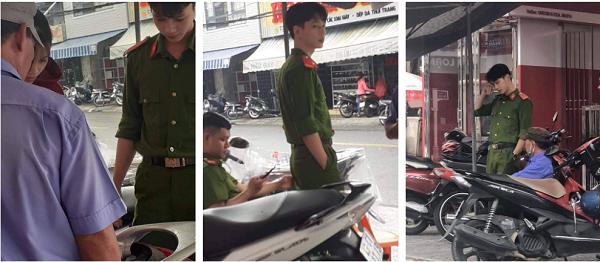 Hội chị em ráo riết truy tìm danh tính chàng công an đẹp như hot boy Hàn Quốc - Ảnh 1