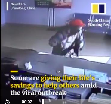 Cụ ông nghèo tặng tiền tiết kiệm cả đời cho nhân viên y tế chống virus corona - Ảnh 1