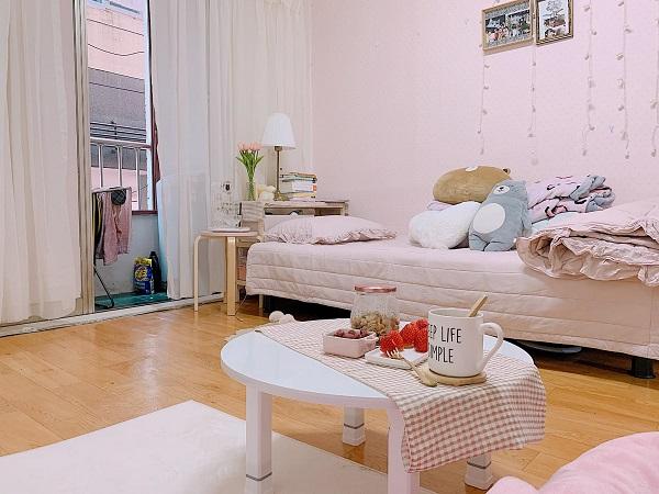 9X đầu tư 15 triệu 'lột xác' phòng trọ cũ thành căn hộ tone hồng xinh muốn xỉu - Ảnh 3