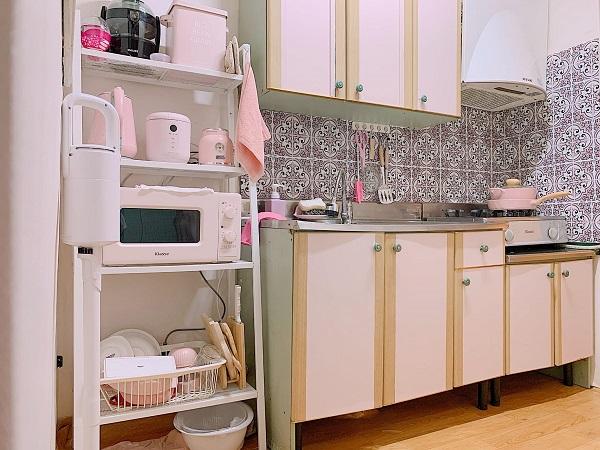 9X đầu tư 15 triệu 'lột xác' phòng trọ cũ thành căn hộ tone hồng xinh muốn xỉu - Ảnh 8