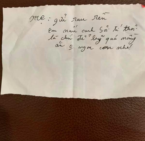Hộp thịt cháy bố gửi cho con trai và lời nhắn khiến dân mạng rưng rưng - Ảnh 2