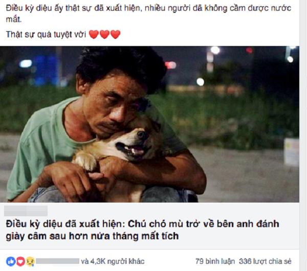 Nhặt con chó mù về nhà, người đàn ông âm thầm làm điều này 2 năm khiến ai nghe cũng cảm động - Ảnh 3