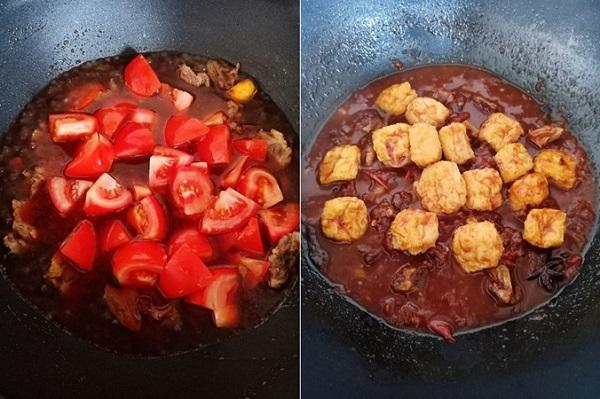 Bữa tối hao cơm với món bò om cà chua mềm ngon - Ảnh 3