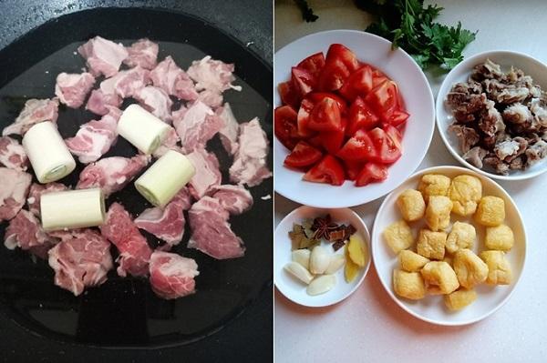 Bữa tối hao cơm với món bò om cà chua mềm ngon - Ảnh 1