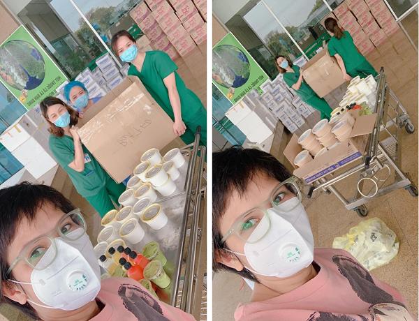 Bà mẹ tự nấu 120 suất cơm ngon gửi tặng các y bác sĩ tuyến đầu chống dịch  - Ảnh 1