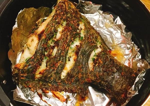 Món cá vàng giòn, thơm ngon, không sợ bắn mỡ với nồi chiên không dầu - Ảnh 2