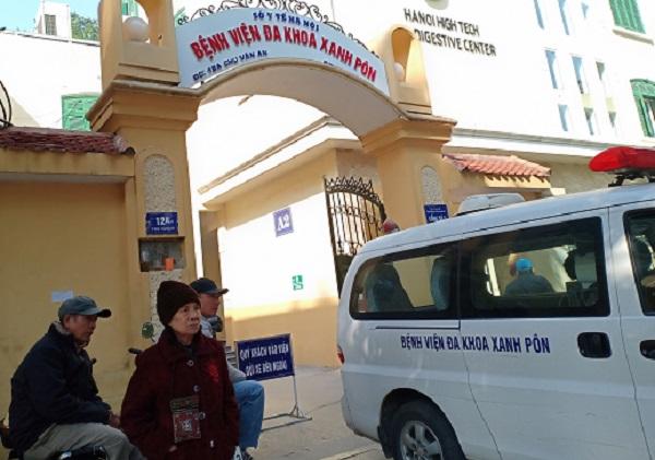 Bệnh viện Xanh Pôn cách ly 1 khoa vì có bệnh nhân Covid-19 đến thăm con - Ảnh 1